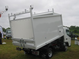 mitsubishi fuso canter 3c13 duonic tipmaster arb tipper for sale