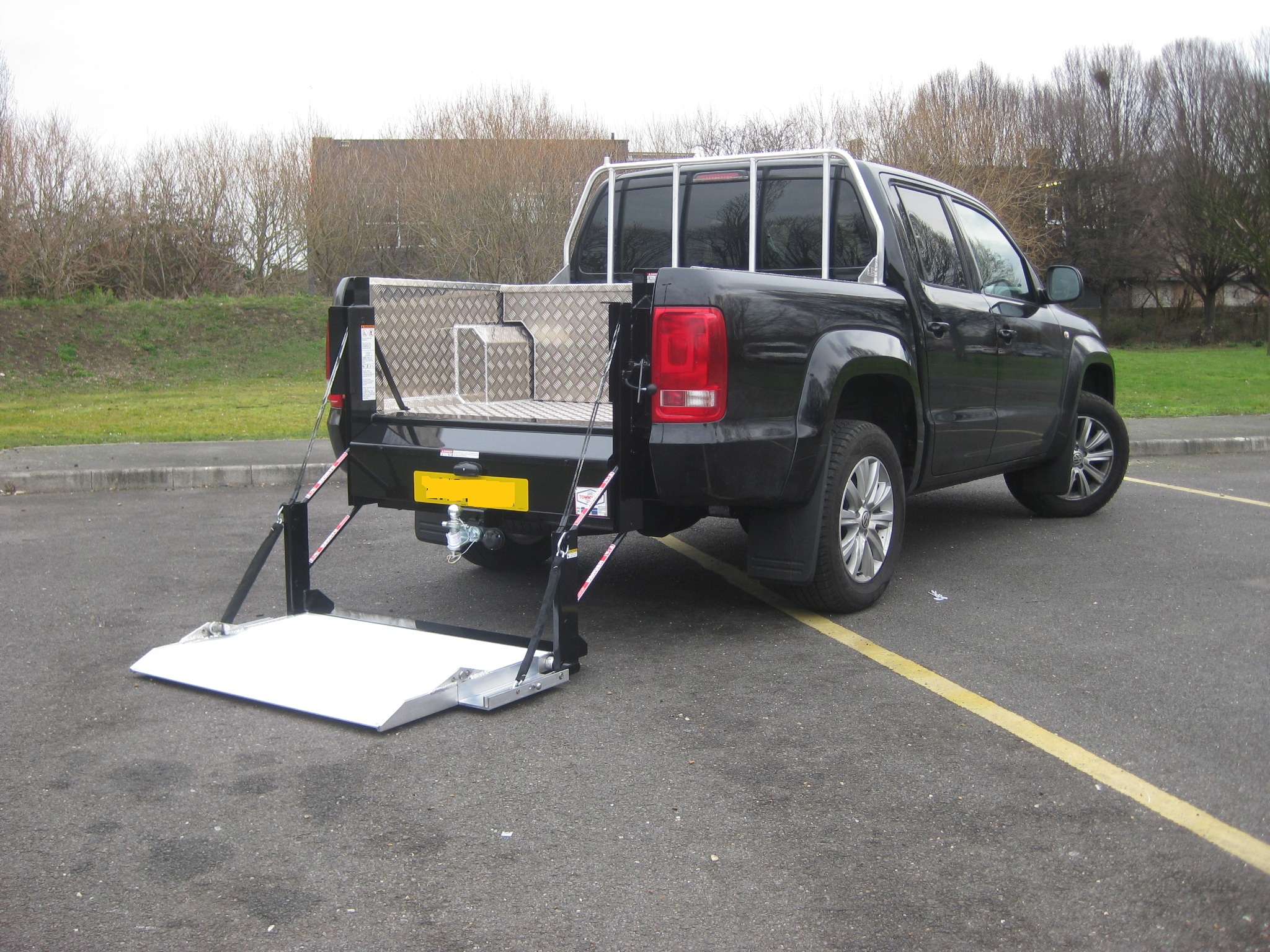 New Nissan Navara Tail Lifts For Sale At Unbeatable Prices